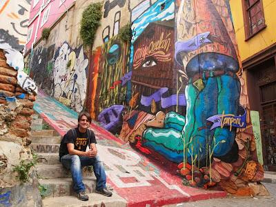 Graffiti en Valparaíso