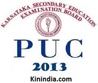 Karnataka 2nd PUC result 2014