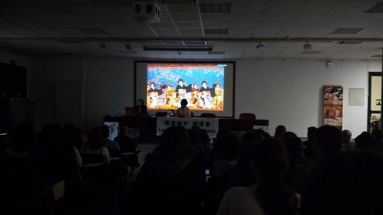 Conferencia Aihara Kyoko