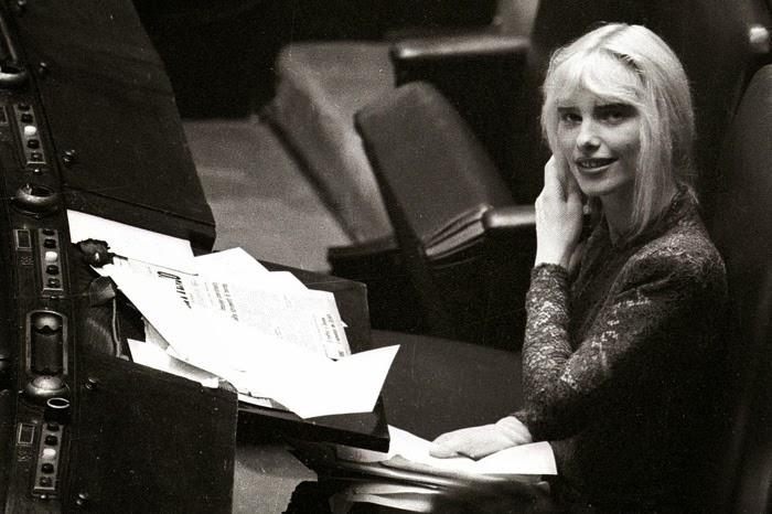 Ilona Staller in parlamento