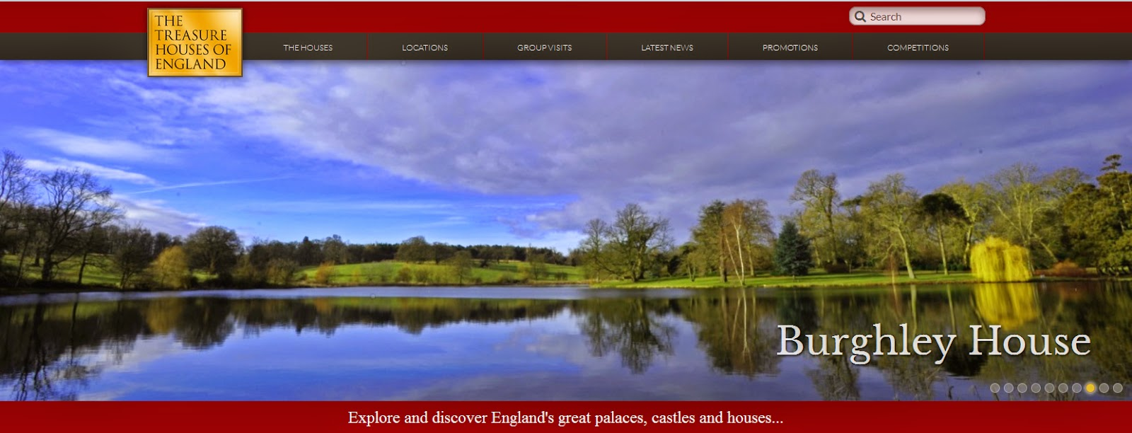 http://www.treasurehouses.co.uk/houses/Burghley+House
