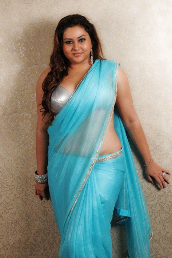 ... Photos: Tollywood Actress Namitha Kapoor in Blouse and Saree Stills
