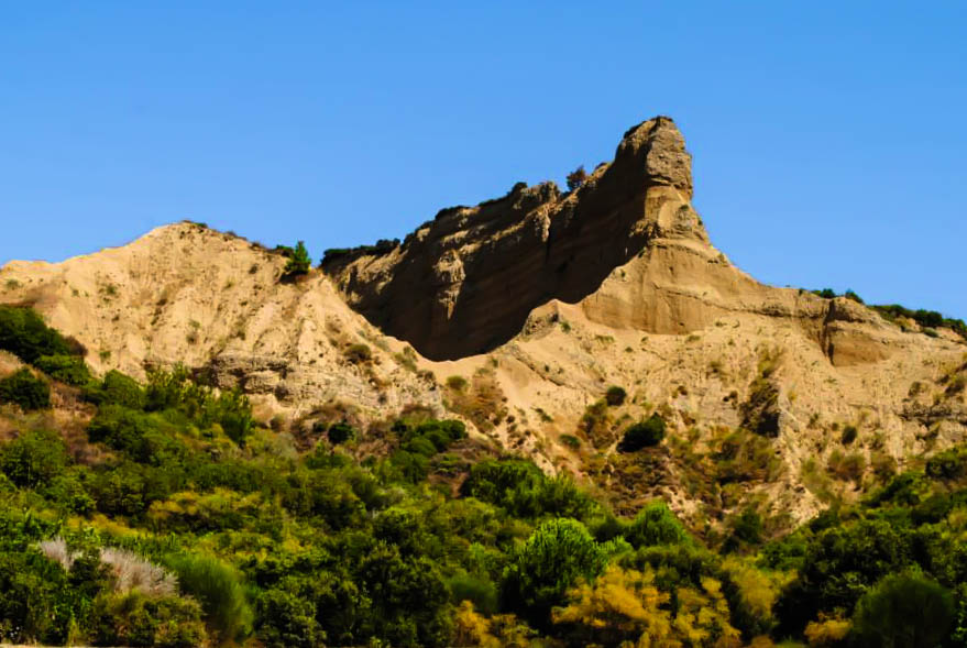 The Sphinx from Anzac Cove in Gallipoli Turkey
