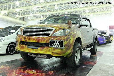 Modified Hilux Airbrush