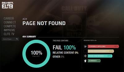 Call of Duty Elite FAIL 100%