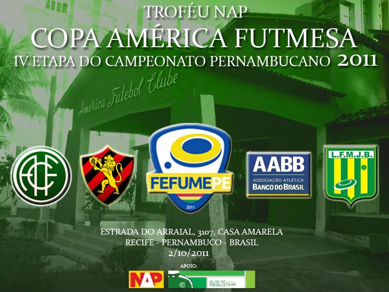 Vem a Copa América de Futebol de Mesa!