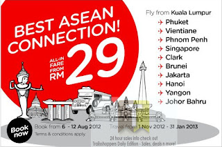 AirAsia Best ASEAN Sale 2012