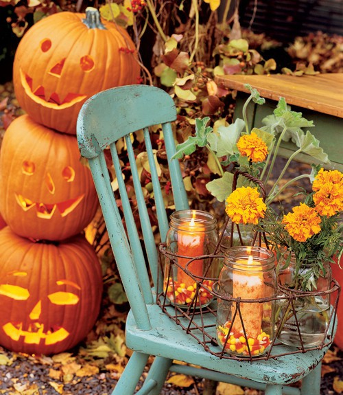 Inspire bohemia halloween decor for the outdoors for Autumn decoration