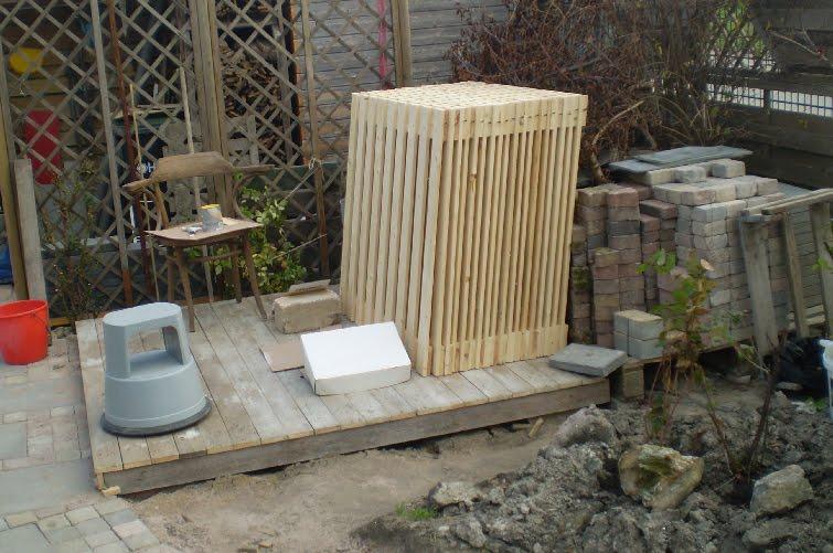 Hekjes Voor Tuin : Onze tuin hekjes en vlondertje