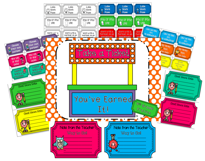 http://www.teacherspayteachers.com/Product/Take-A-Ticket-Youve-Earned-It-771541