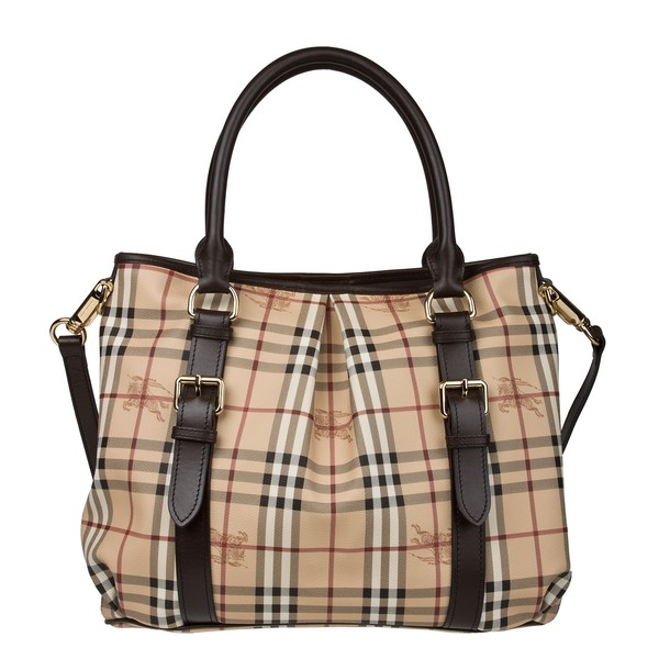 4f2bae8cfa6e Brands For Fraction  Burberry Haymarket Check Northfield Tote Bag only in  1100 AED.