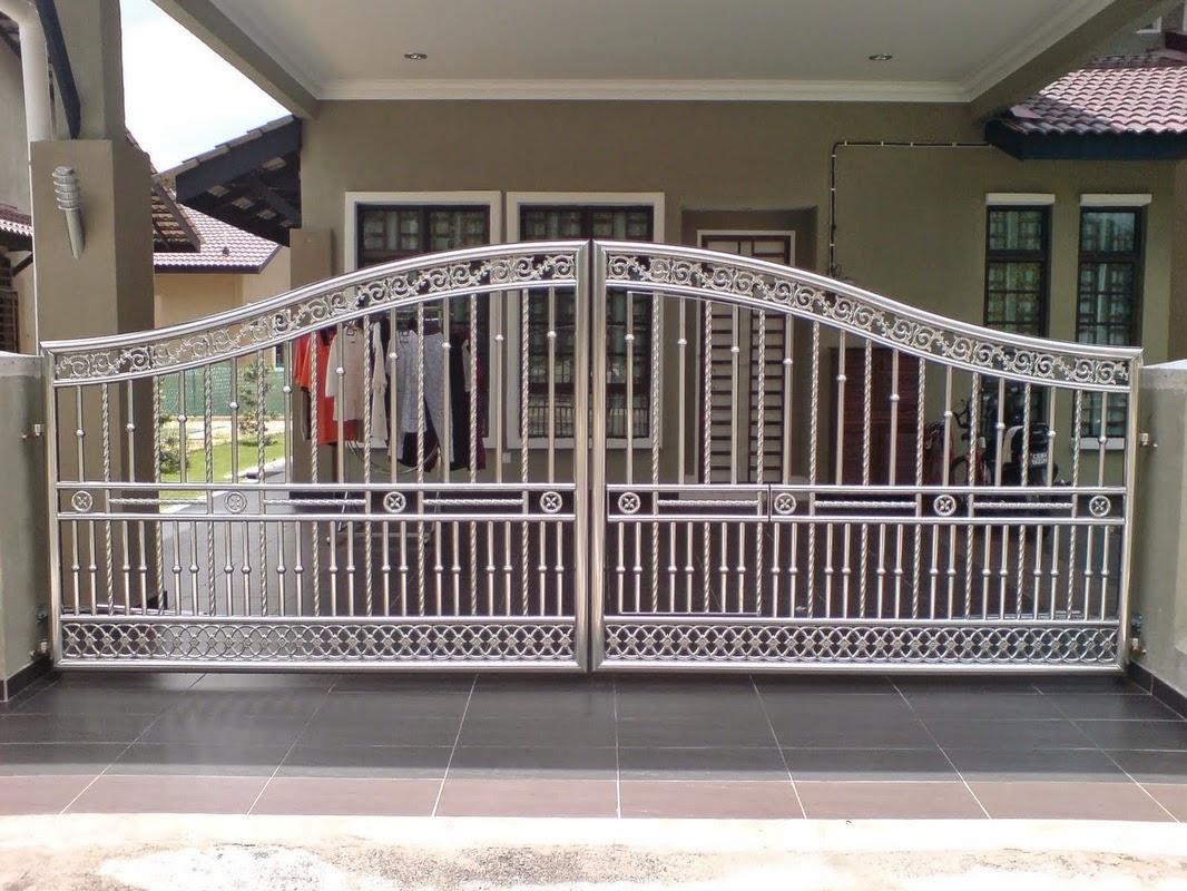 tri karin cemerlang pintu gerbang stainless steel