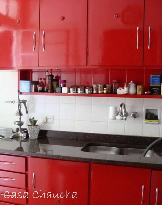 Excepcional Rojo Blanco Y Negro Ideas Decoración De La Cocina Imagen ...