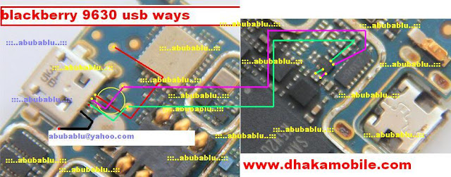 Blackberry 9630 usb ways solution