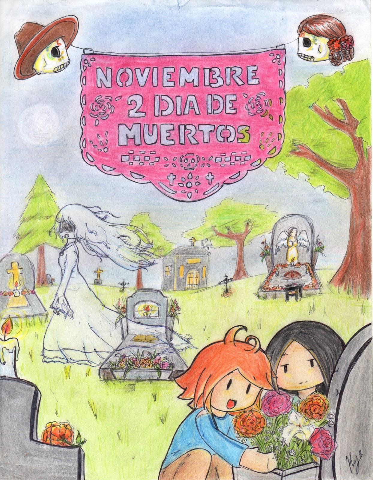 Velas Dia De Los Muertos Dia de muertos todo colorVelas Dia De Los Muertos