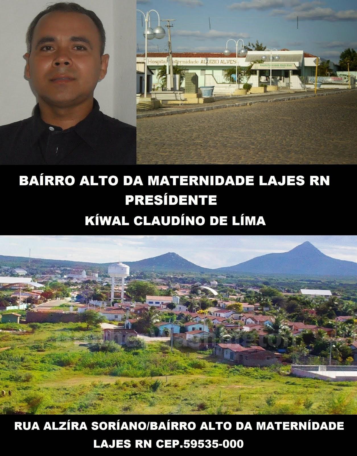 BAIRRO ALTO DA MATERNIDADE LAJES RN