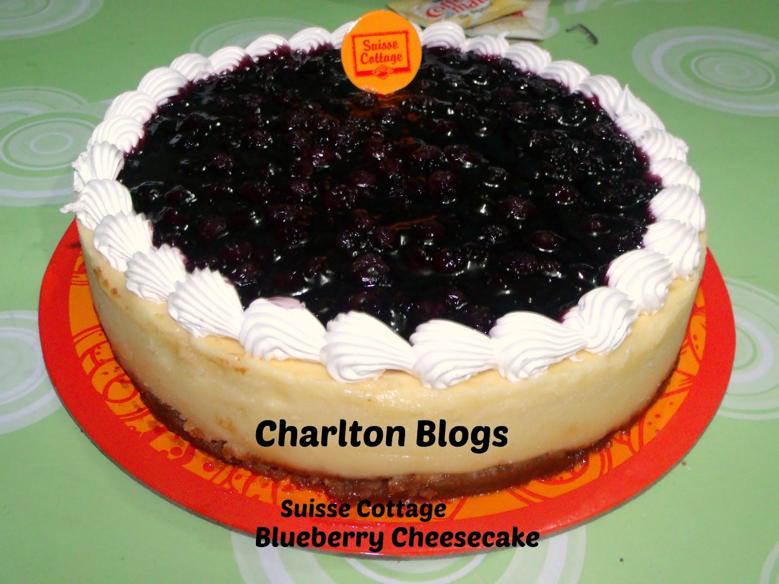 ... EXPERIENCE: 7 Gifts for my 30th - First is Blueberry Cheesecake
