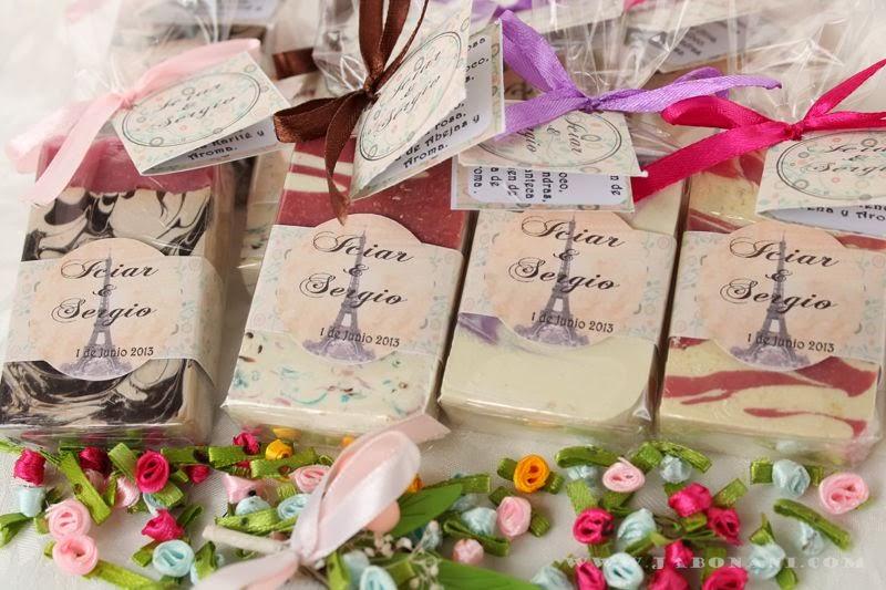 Jabonani jabones naturales para detalles de boda - Detalles de boda elegantes ...