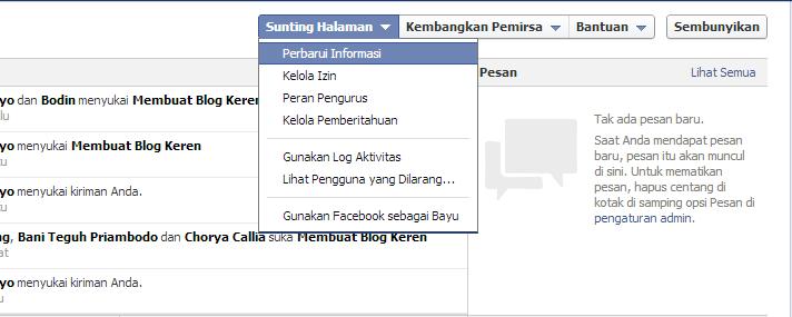 Cara Membuat Facebook Like di Blog (Like Box FB)