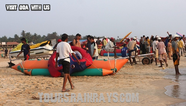 Calangute Beach Tourist Goa India. Get best tours India. find real incredible india