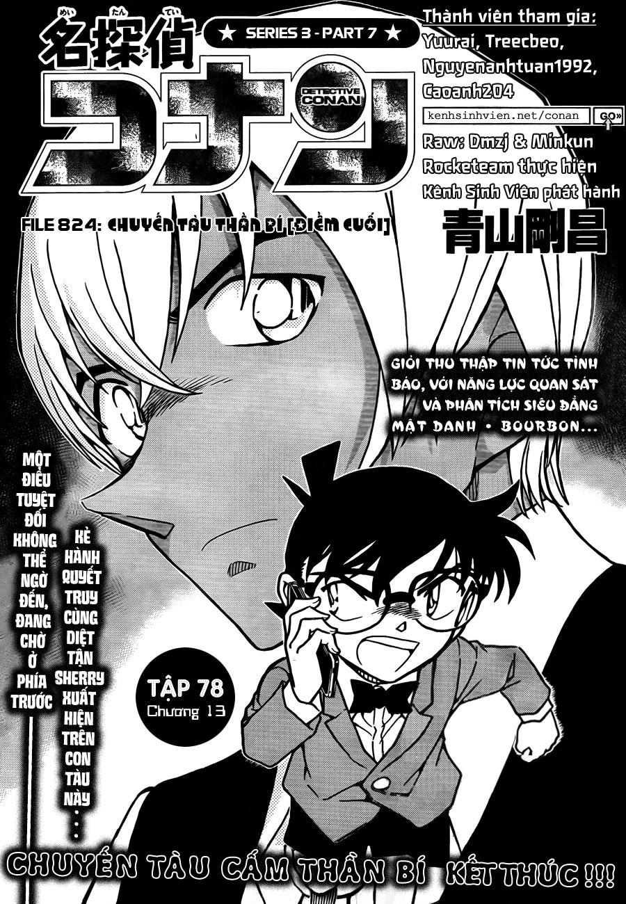 Thám Tử Lừng Danh Conan - Chapter 824 - Pic 2