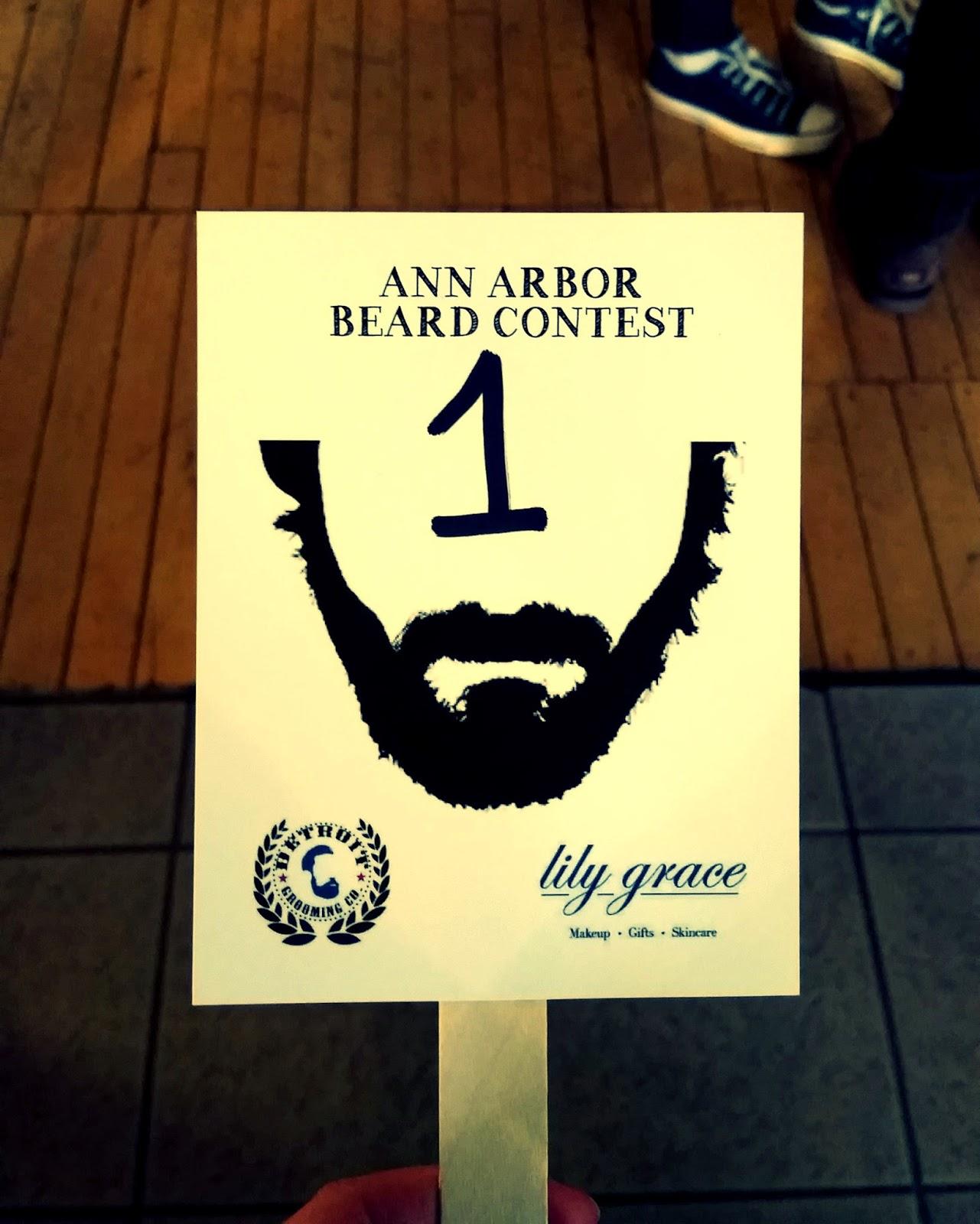 Ann Arbor Beard Competition