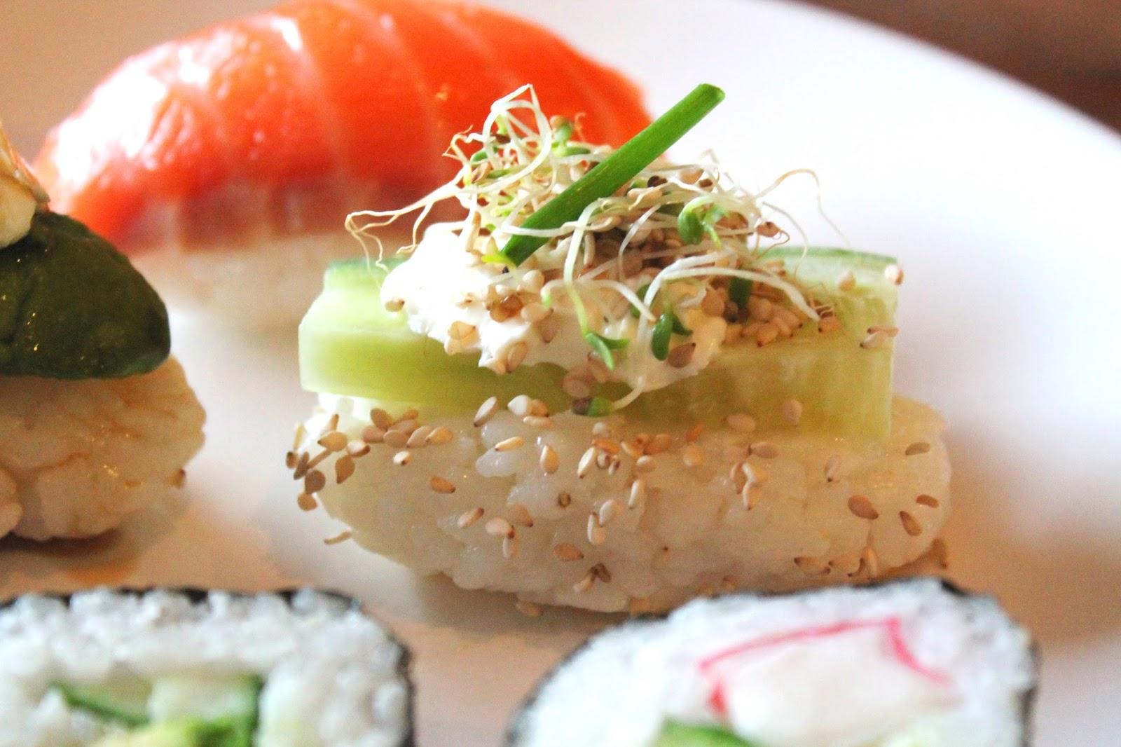 Homemade nigiri sushi | Alinan kotona blog