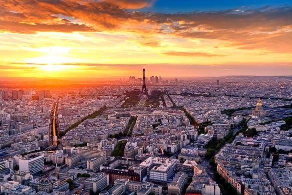 Paris-romantic-sunset-montparnasse-tower-view