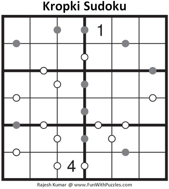 Kropki Sudoku (Mini Sudoku Series #63)