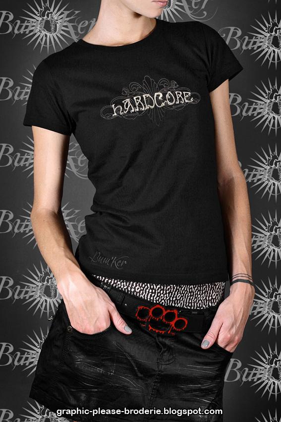 Magasin de Chemises des Groupes de Rock, Metal, Punk