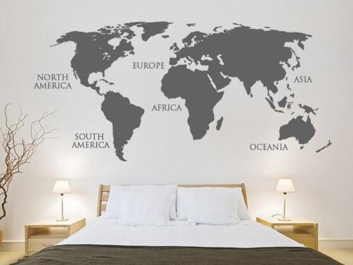Um sonho a dois mapas decorativos Mapas decorativos