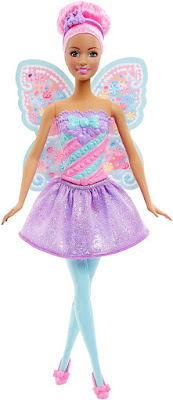 TOYS : JUGUETES - BARBIE Fairy - Candy Fashion  Muñeca Hada - Doll  Producto Oficial 2015 | Mattel DHM51 | A partir de 3 años  Comprar en Amazon España & buy Amazon USA