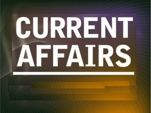 Current Affairs  2013