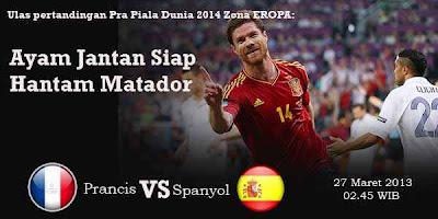 PRANCIS VS SPANYOL