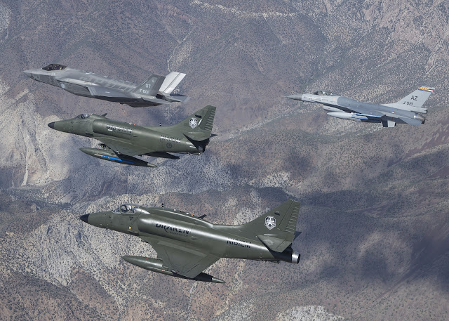 A-4K Draken, F-35 Lightning II & F-16 Fighting Falcon