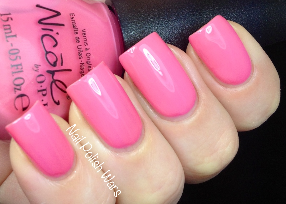 nail polish wars  nicole by opi cvs exclusives swatch  u0026 review