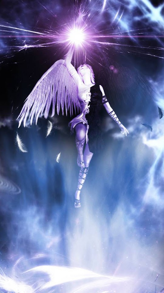 Holy Angel   Galaxy Note HD Wallpaper
