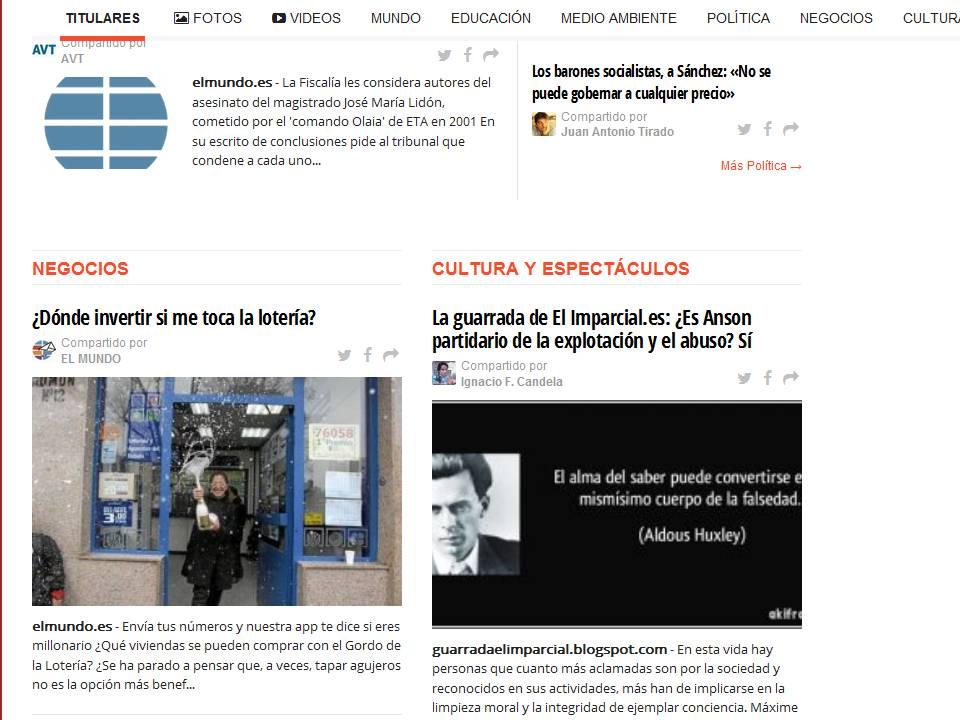 Diario de los Peones Negros.