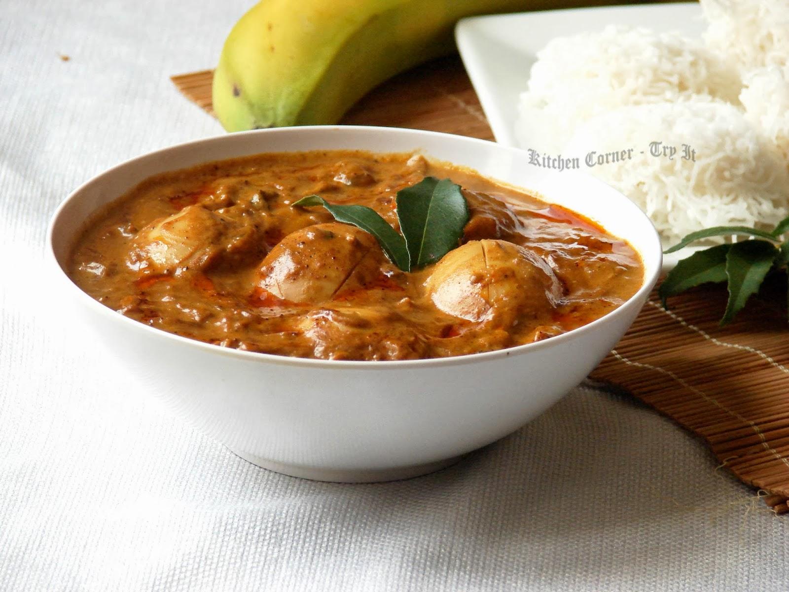 Egg Curry Recipe — Dishmaps