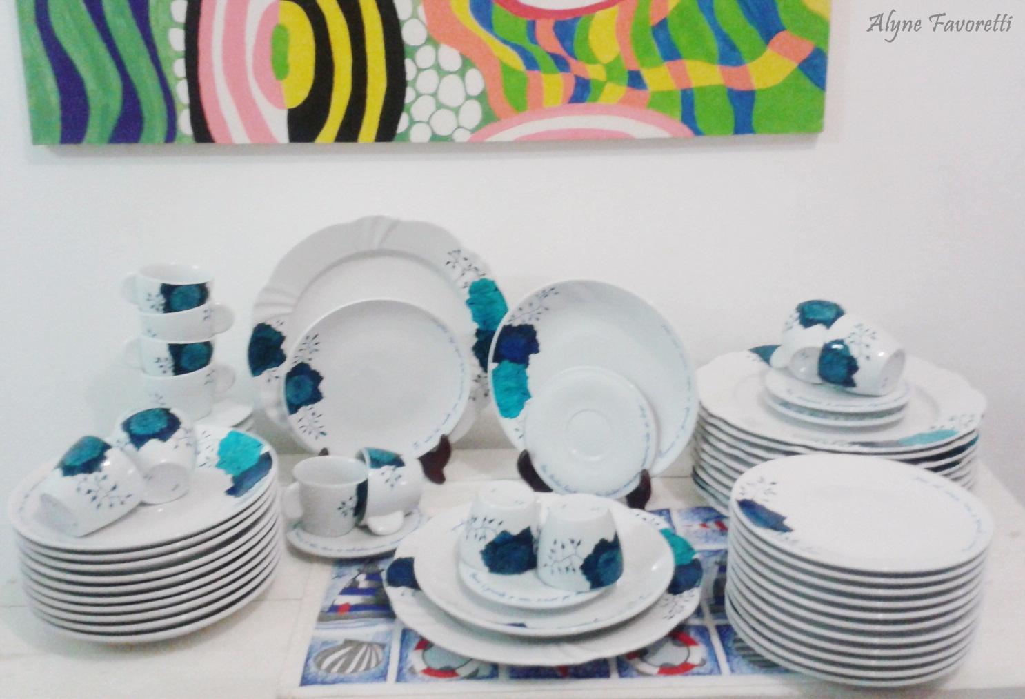 Alyne Favoretti: Aparelho de Jantar para 12 pessoas personalizado para  #A59826 1486x1014