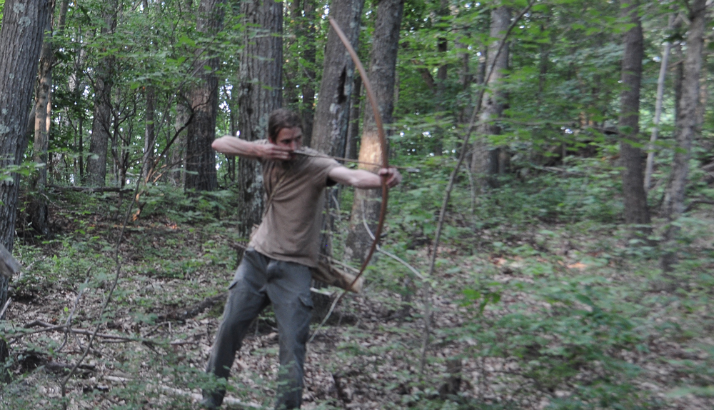 Recurve Self Bow Shooting Traditional Bows
