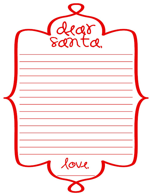 Santa Letter Printables Free Printable Dear Santa