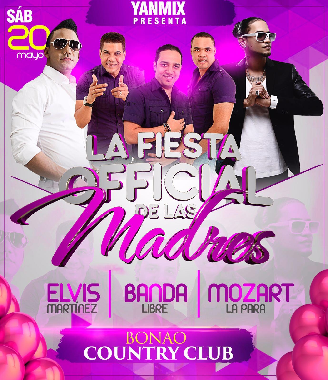 20 DE MAYO EN EL BONAO COUNTRY CLUB