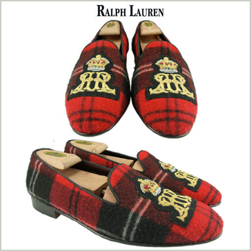 RALPH LAUREN - SLIPPERS