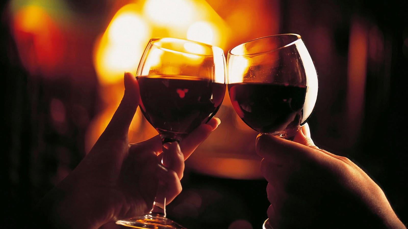 Wijn voor Valentijnsdag