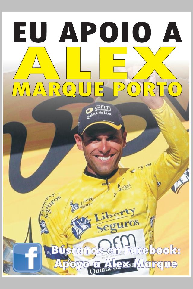Eu apoio a Alex Marque
