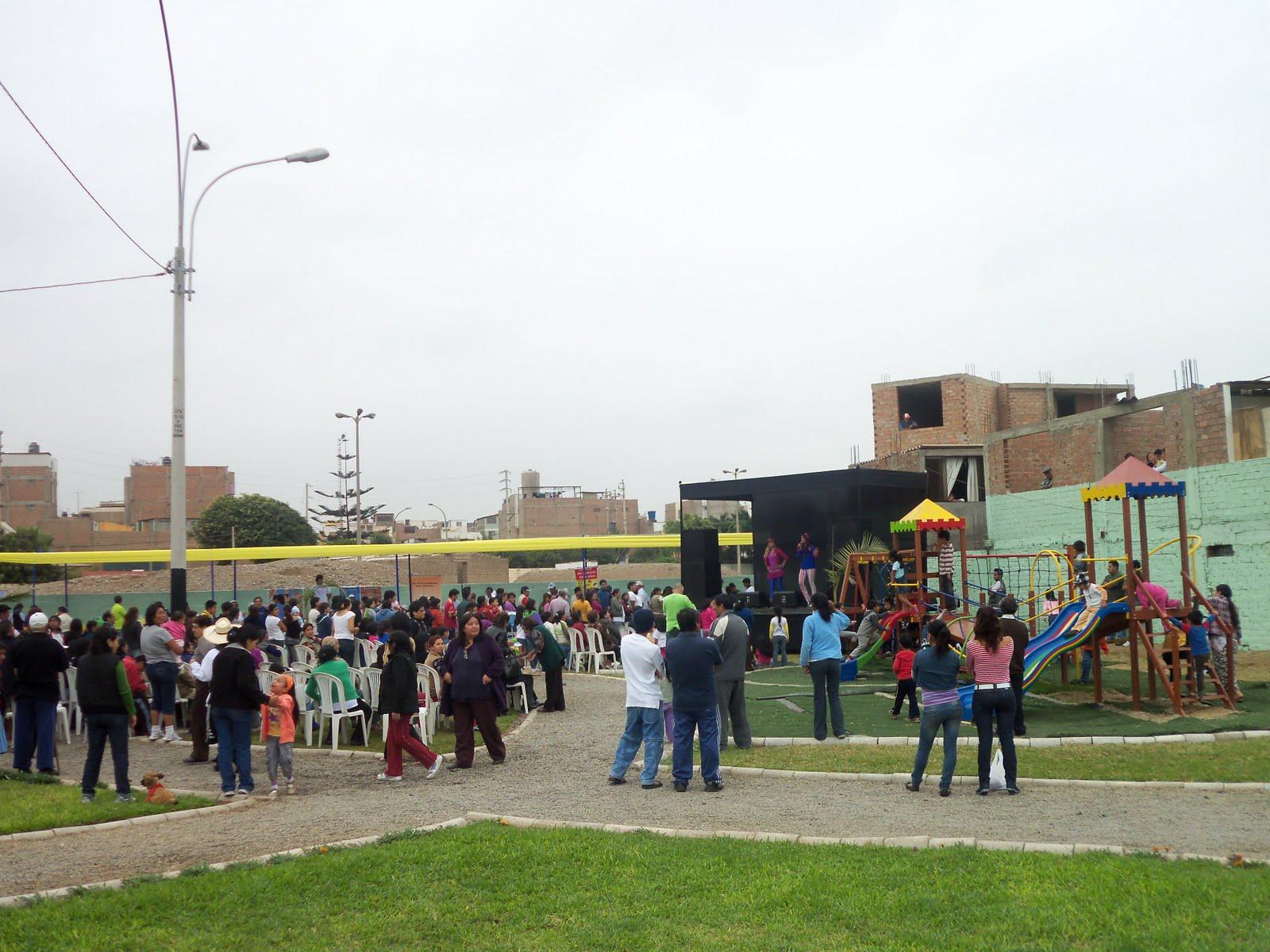 Noticias juan cruz inauguraci n del parque el vivero en for Vivero del parque