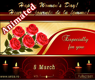 Especially for you (Women's Day animated greeting card)