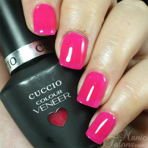 Cuccio Double Bubble Trouble Swatch