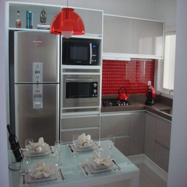 Mimos e Moda por Diana Rocha Cozinha Pequena  Planejada # Cozinha Planejada Pequena Bh